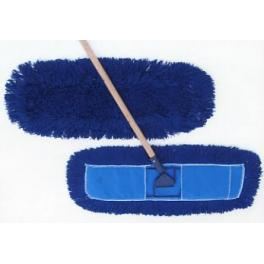 "60"" DUST MOP w/BLUE POCKET BACKING fits 5"" FRAME, 12/CS"