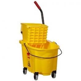 Rubbermaid Mop Bucket with Side Press - 26 qt.
